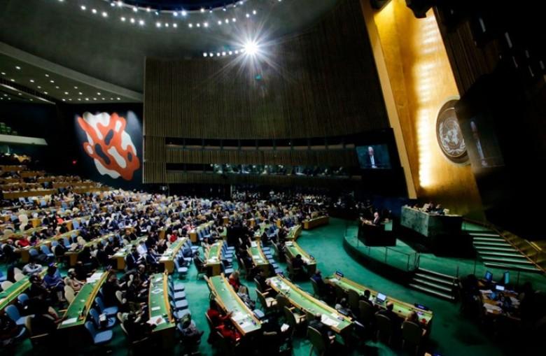 فشل مشروع القرار الأمريكي بإدانة المقاومة الفلسطينية