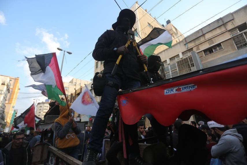 مسيرات بغزة تُجرّم قرارًا أمريكيًا يُدين المقاومة